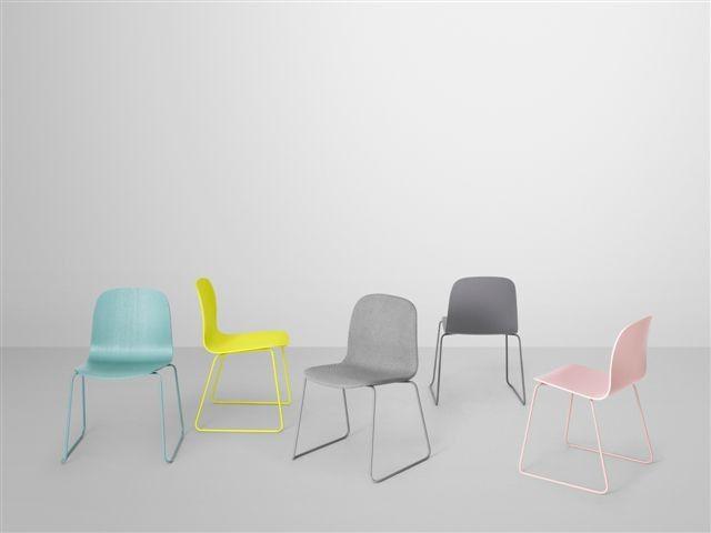 Visu Chair Stuhl Kufengestell Farbig Lackiert Muuto 2 Er Pack Designed By Mika Tolvanen Ab 498 00 Bestpreis Garantie Mit Bildern Stuhle Tisch Und Stuhle Bunte Stuhle