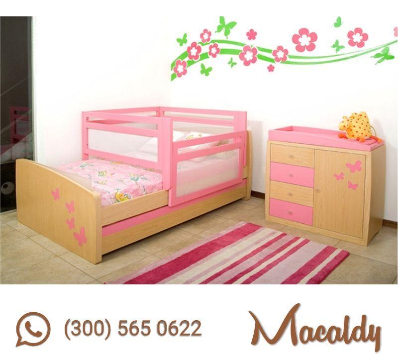 Cama-Cuna-para-Nina-Macaldy-11 copia | Beds | Pinterest | Cama cunas ...