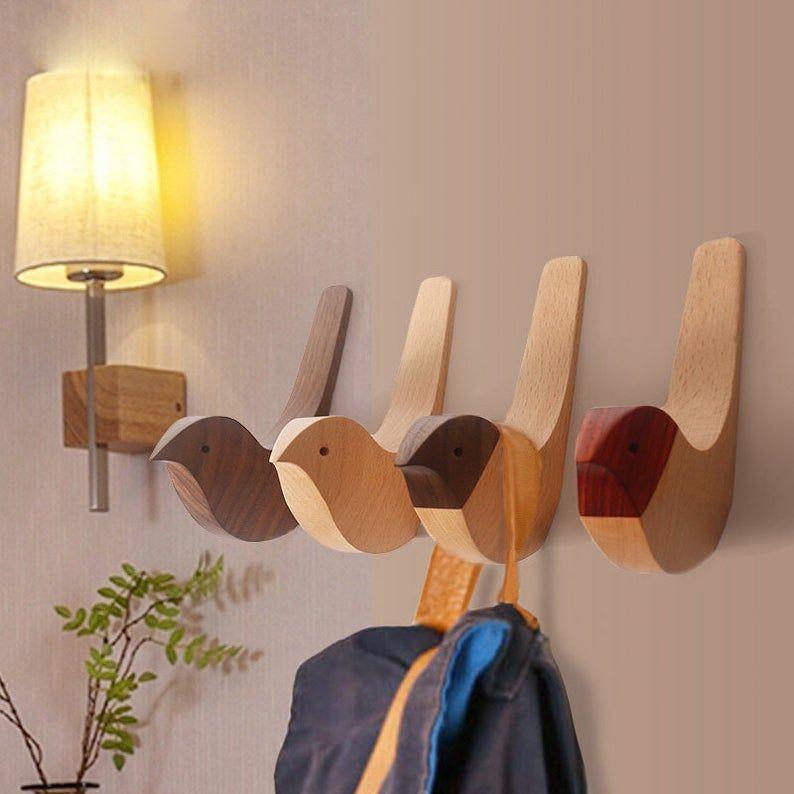 Modern Ideas Wall Hooks Decorative Hooks Wall Hook Coat Hangers Rack Hooks Bird Hooks In 2020 Decorative Wall Hooks Modern Wall Hooks Decorative Hooks
