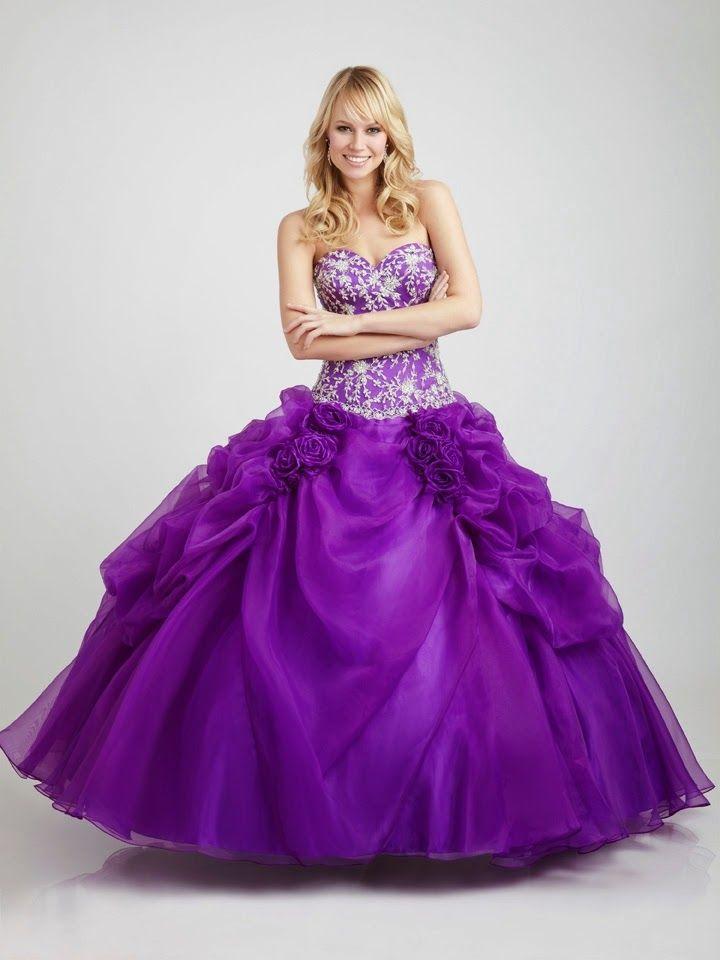 Magnificos modelos de vestidos de 15 años 2015 | Coisas de Vitória ...