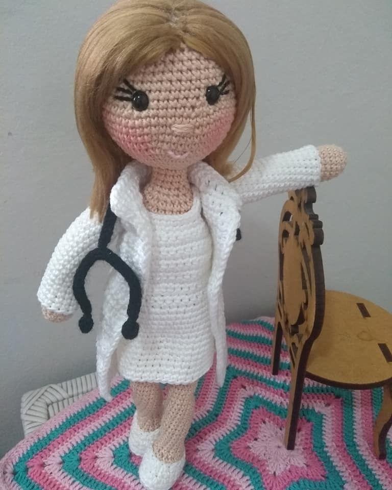 Boneca Amigurumi | Elo7 | 960x768