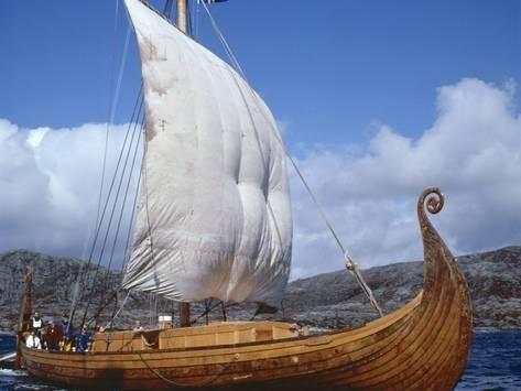 Replica Oseberg Viking Ship West Norway Norway Scandinavia Photographic Print David Lomax Art Com Viking Ship Vikings Norse
