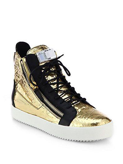 Goldene GIUSEPPE ZANOTTI DESIGN Sneaker high online kaufen