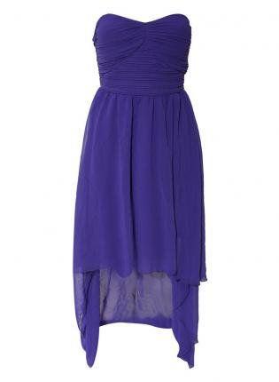 Chiffon Dip Hem Dress