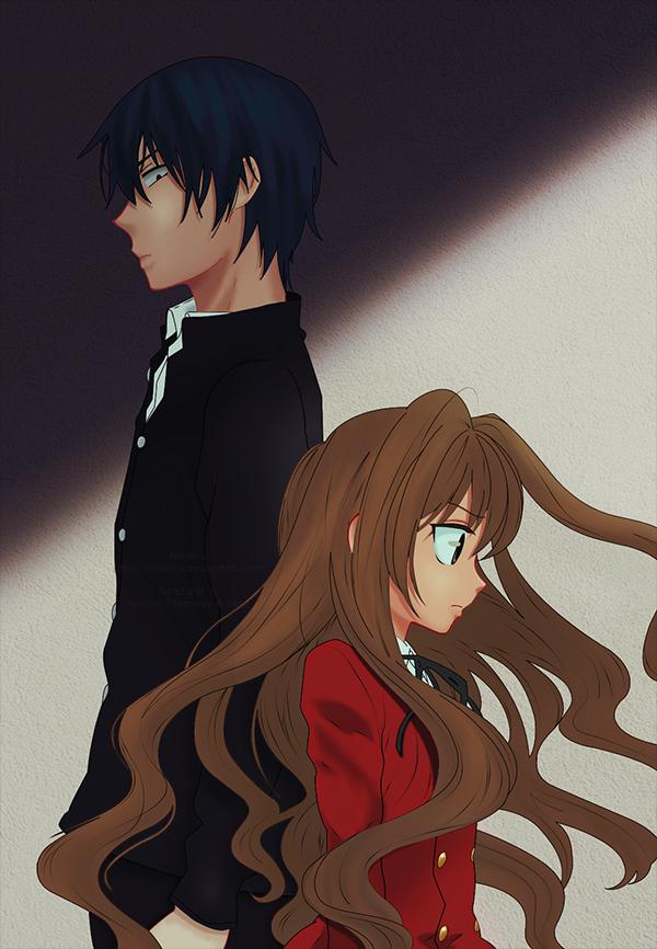 Ryuuji and Taiga by Nelielru (With images) Toradora