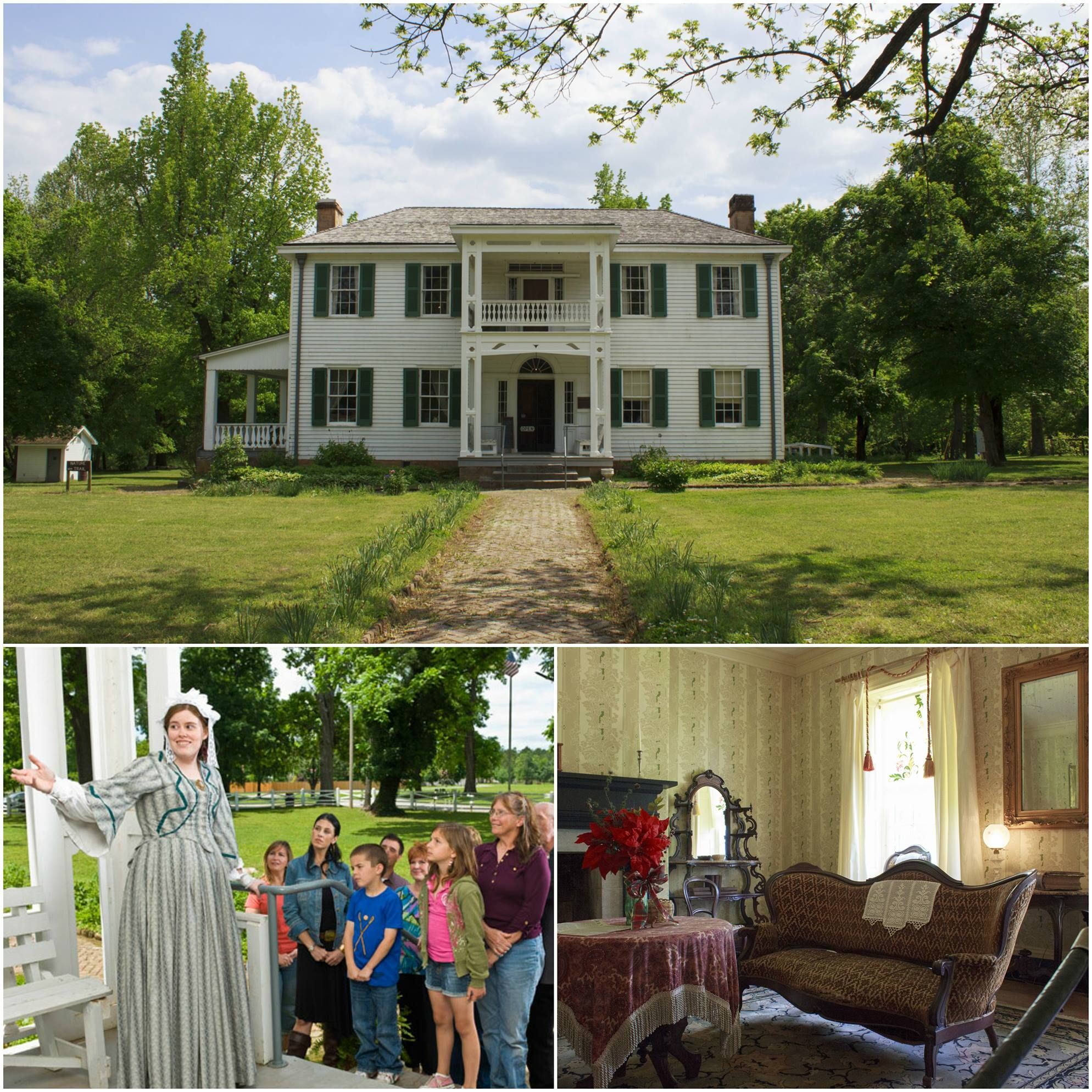 History Comes Alive Every Third Saturday At The Murrell Home Historic Site Located Near Tahlequah