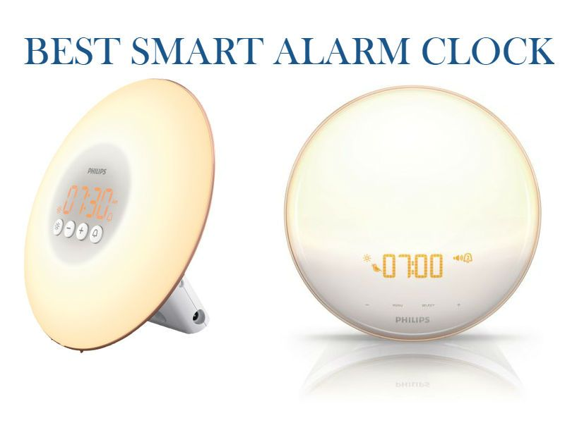 Best Smart Alarm Clock Philips Wake Up Light Smart Alarm