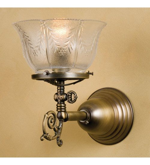 View the Meyda Tiffany 36617 Single Light Up Lighting Wall Sconce at LightingDirect.com.
