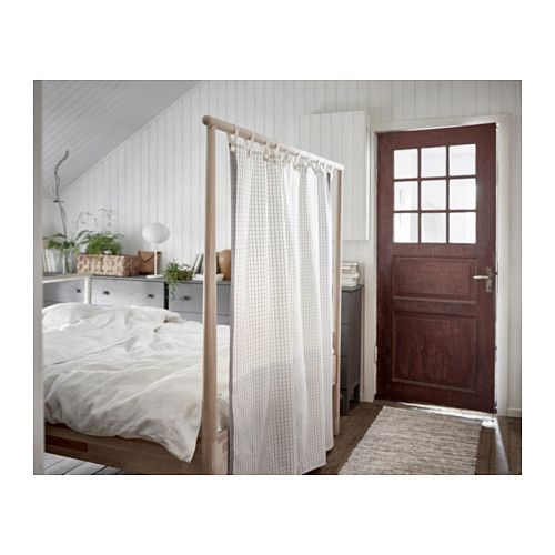 GjÖra Bed Frame Birch Lönset Queen