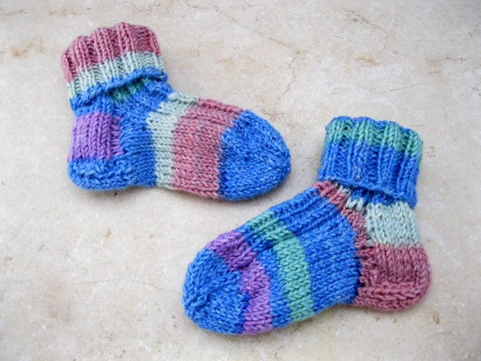 Baby Sleep Sack Uk These Fun Striped Socks Are Hand Knitted With A Cotton