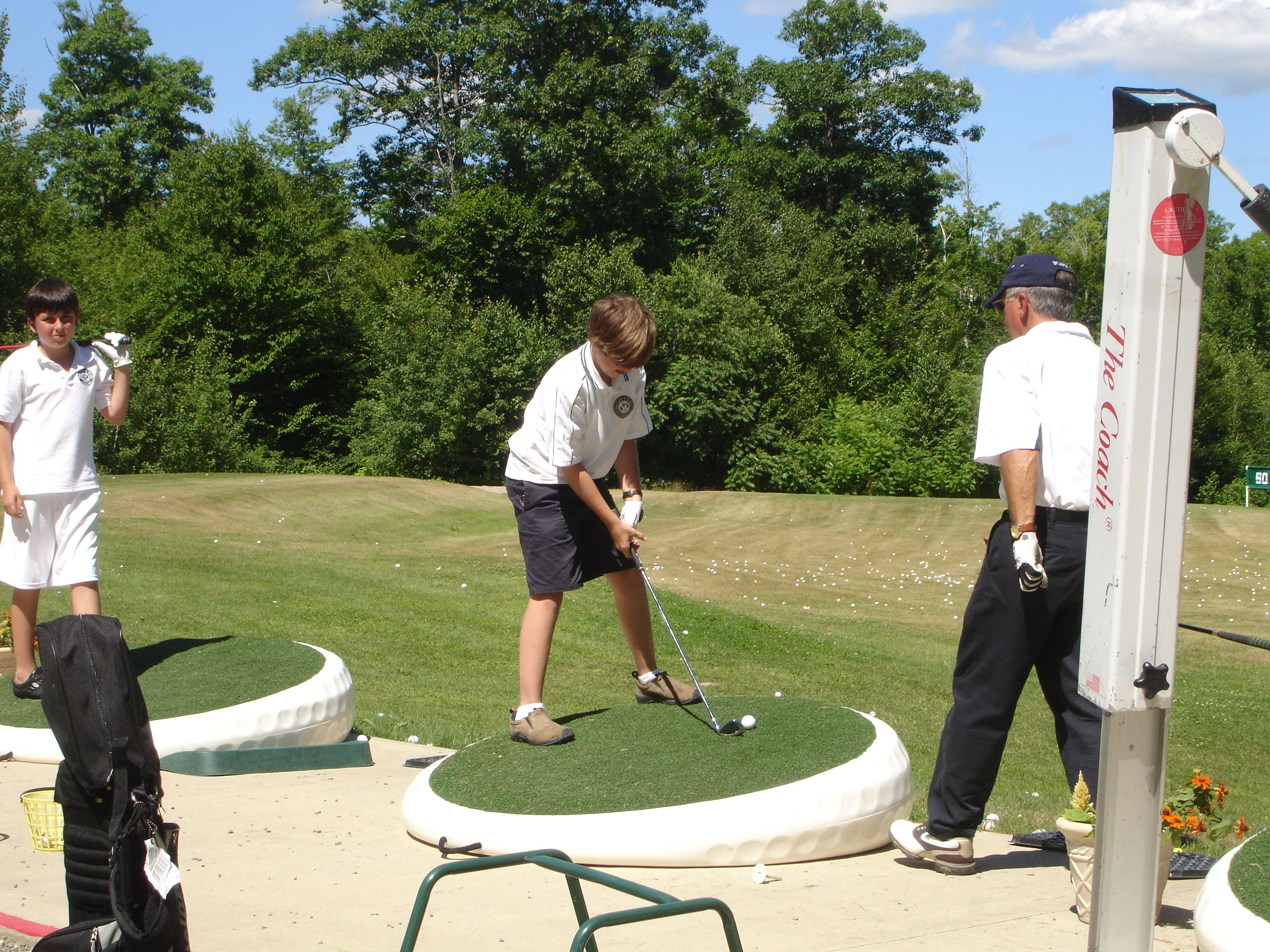 Golf Training Junior Golf and Tennis Camp for Kids