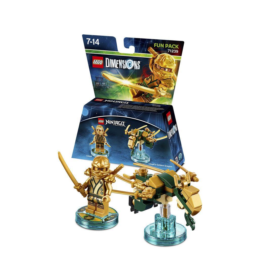 Lego Dimensions Ninjago Lloyd Fun Pack 71239 Garrett Calvin