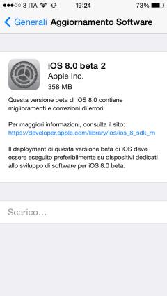 INFOMICROTECH: iOS 8 beta 2: tutto quello che c'è da sapere