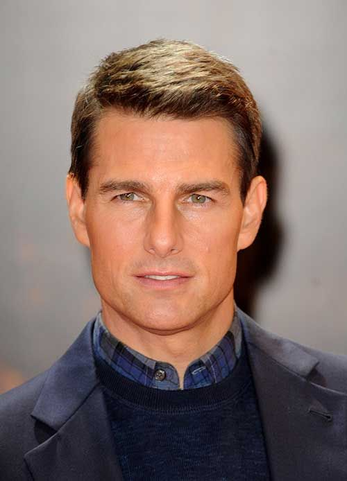 Tom Cruise Classy Short Hair Jpg 500 694 Tom Cruise Hair Tom Cruise Haircut Mens Haircuts Short