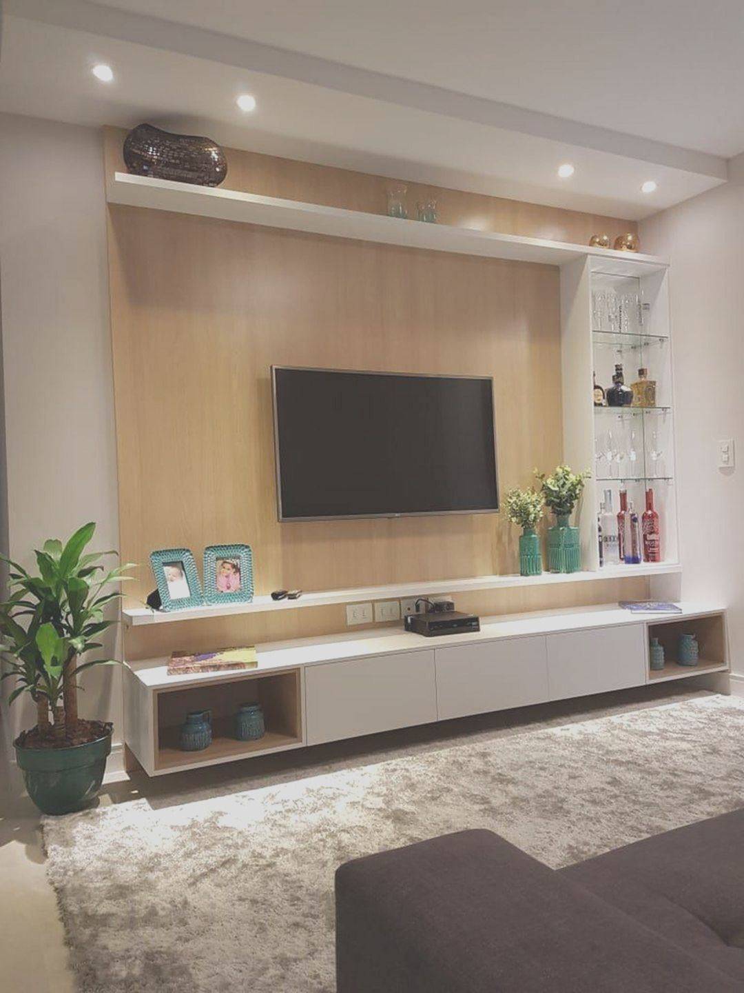 26 Amazing Tv Wall Design Ideas For Living Room Decor In