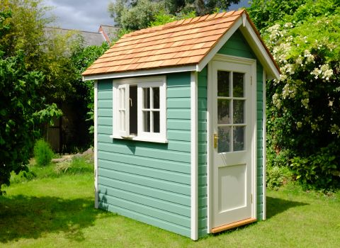 The Handmade Garden Storage Company Heritage Garden Shed | Cedar ...