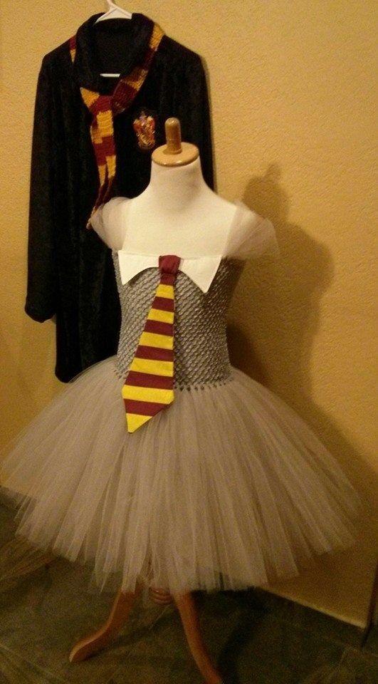 2f9a8af29 Harry Potter Dress Tutu One of kind with Robe size 5-10 #HarryPotter ...
