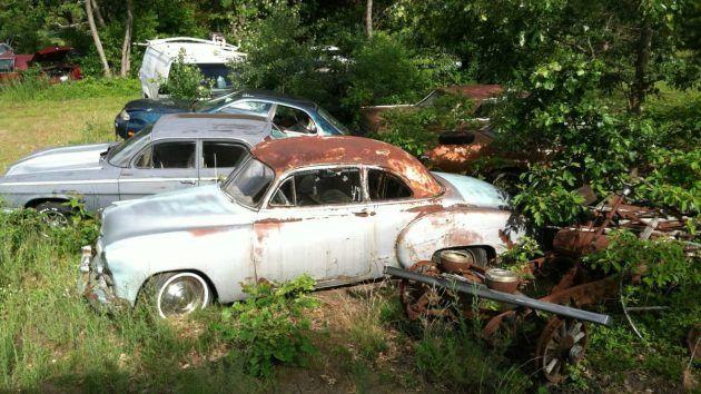 My Name Is Joe: This Is My Salvage Yard | Junkyard cars ...