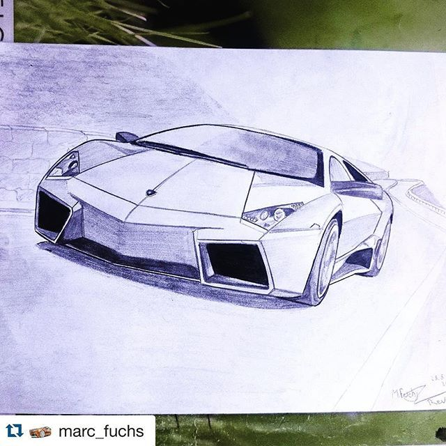 Draw Your Favorite Lamborghini Mention Us And Tag That