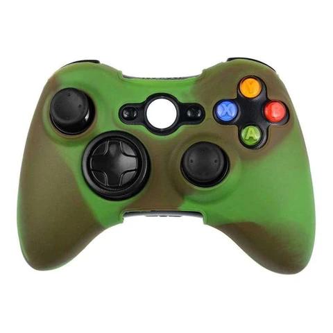 Green Xbox 360 Controller Cover Xbox 360 Controller Xbox Xbox 360