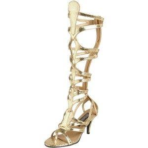 Zapatos dorados Funtasma para mujer 4lo3ZaT