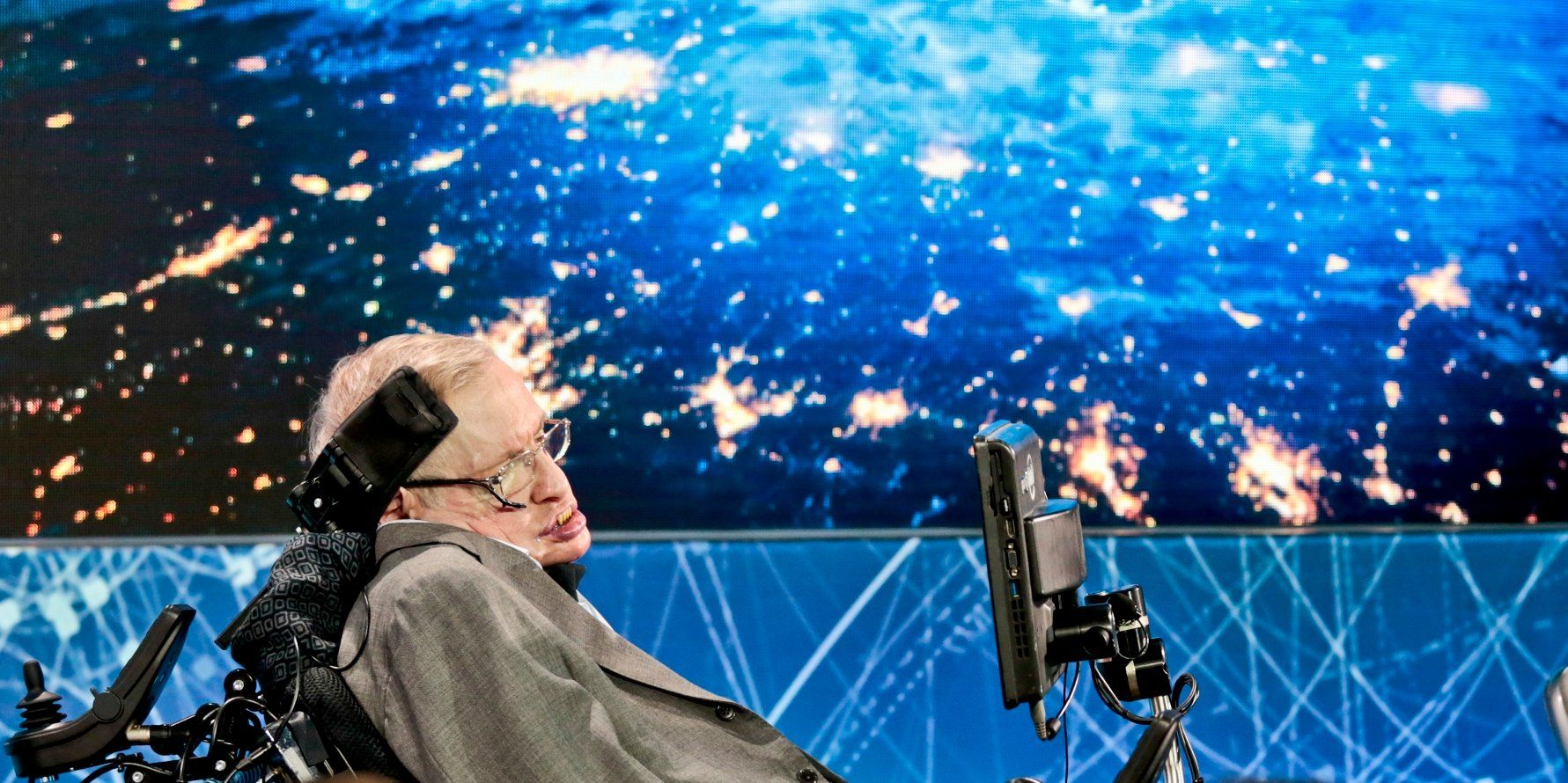 Image result for 2 Weeks Before Death, Hawking Submitted a Mind-Melting Paper on Parallel Universes