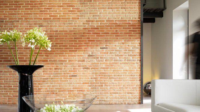 la pierre de parement pour un style design parement pierre de parement et brique rouge. Black Bedroom Furniture Sets. Home Design Ideas