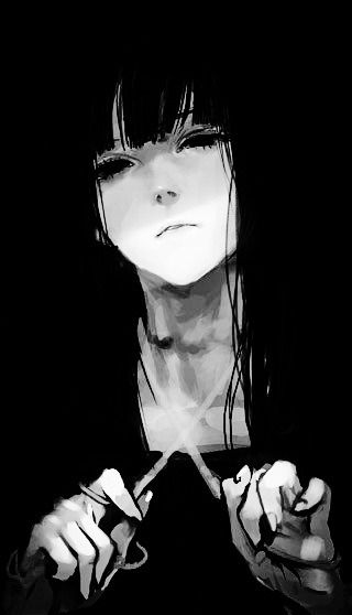 Discover And Share The Most Beautiful Images From Around The World Anime Monochrome Dark Anime Anime Art Beautiful