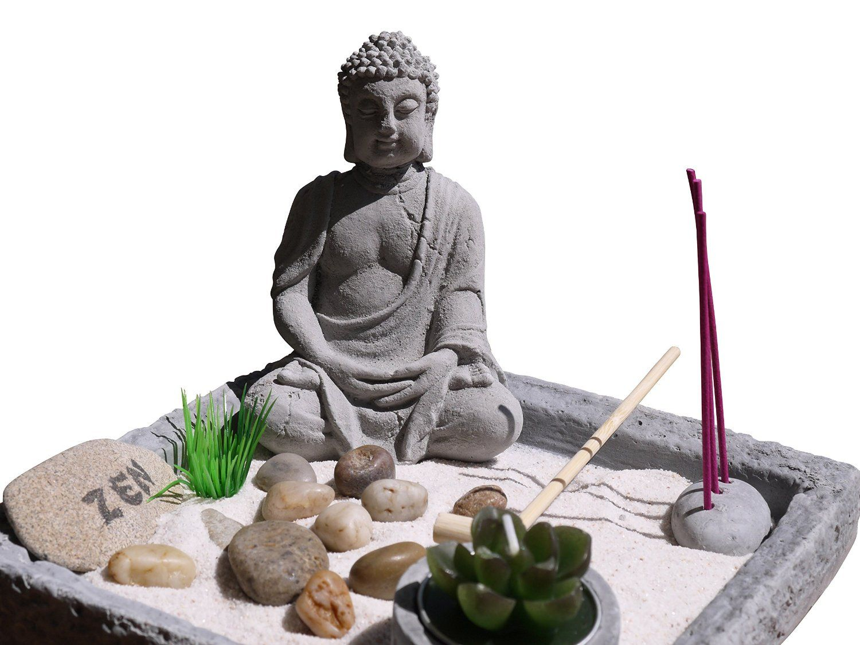 khevga feng shui deko zen garten buddha amazonde kche - Buddha Deko Wohnzimmer
