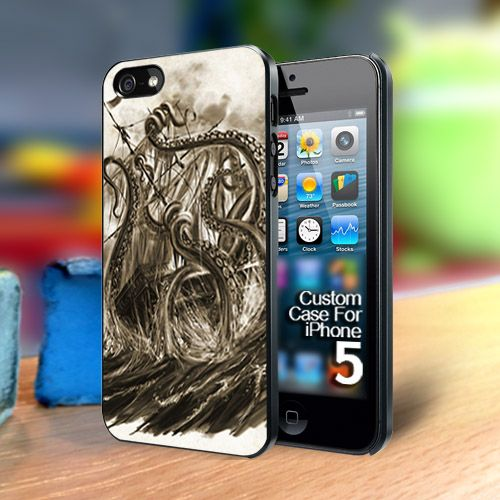 GRAB IT NOW.. VERY LIMITED !!  TP2016 kraken attack Iphone 5 case | TheYudiCase - Accessories on ArtFire
