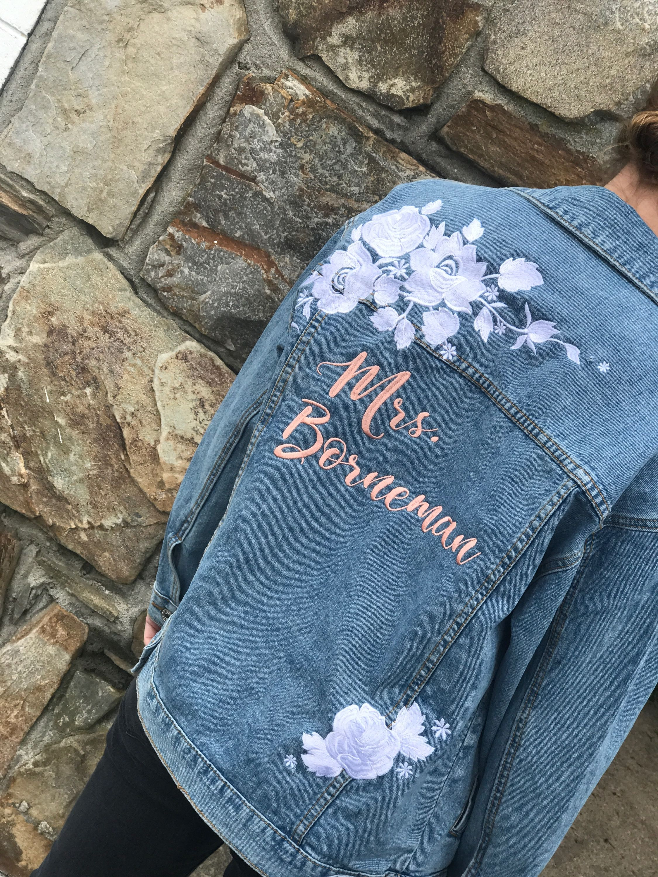 Pin by dearly threaded on custom embroidered jackets in