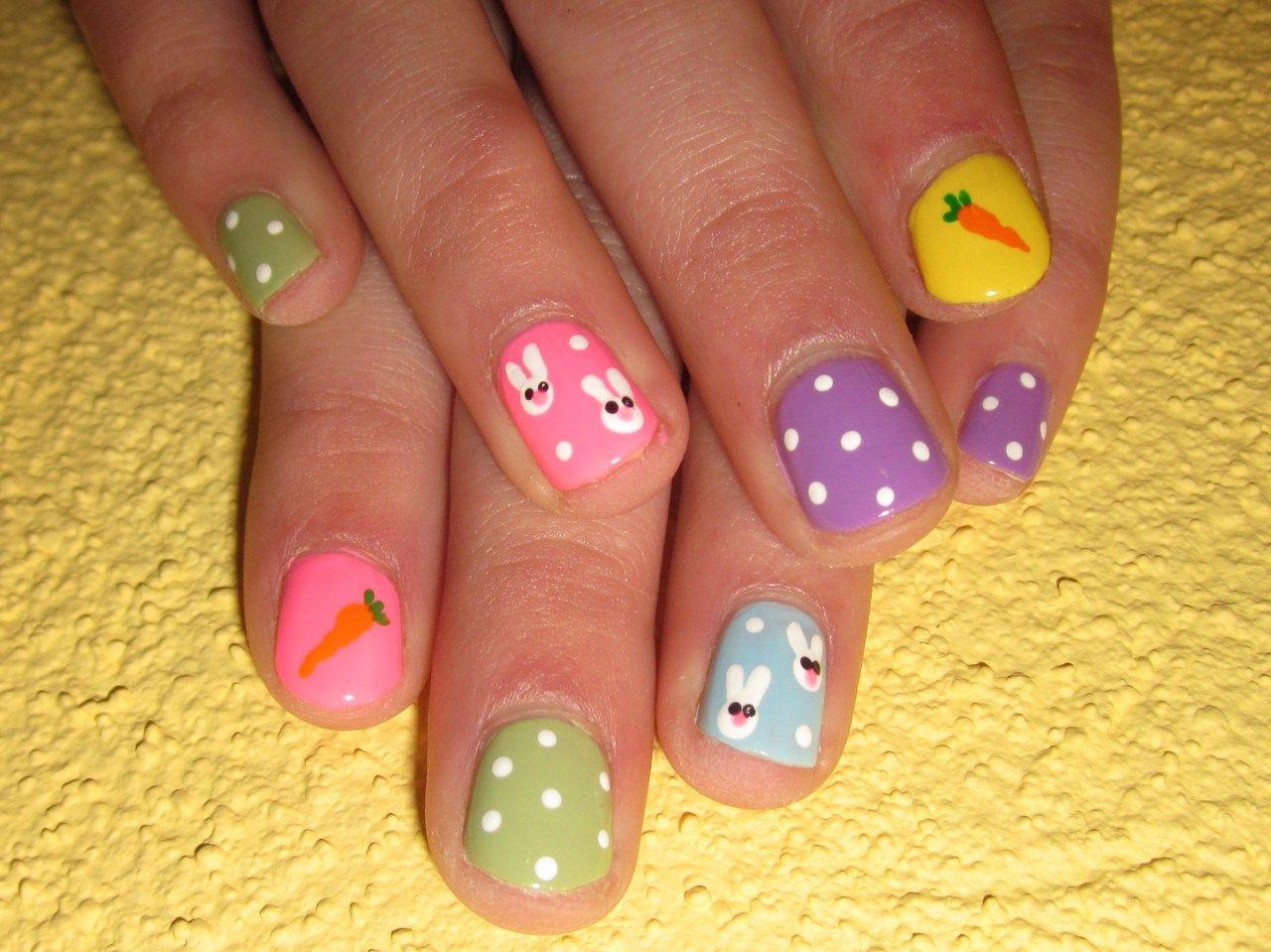 easter nail art | Tumblr | nails | Pinterest | Easter nail art ...