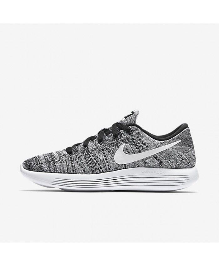 00ff4d9125b237 Nike Lunarepic Low Flyknit Black White
