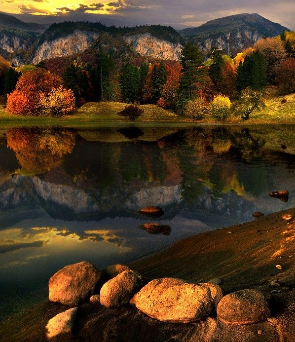 Early Autumn lake,Bulgaria-Beautiful Nature Photography works by Alexander Matev | Amazing Photo Album