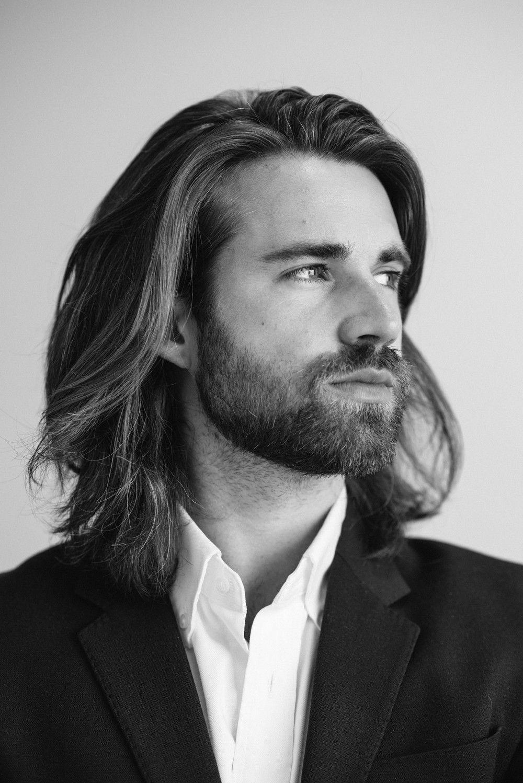 Olivers Cv Shoot Long Hair Beard Long Hair Styles Men Long Hair Styles