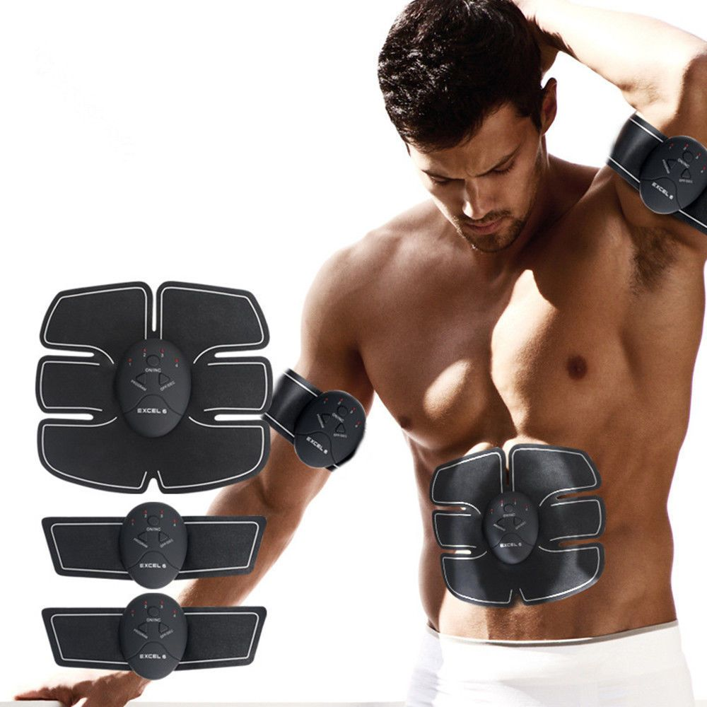 dbc40bd0581 EMS Muscle Training Gear ABS Exercise body Shape Fitness Massage home use  2017