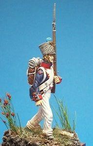 HISTOREX LES ARMEES DE WATERLOO-1815 NAPOLEON GRENADIER GARDE IMPERIALE-54mm