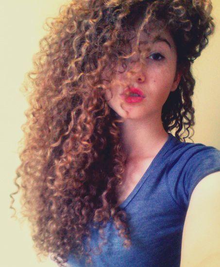 Natural Hair Curly 3b Curls Long Hair Cool Hairs Pinterest