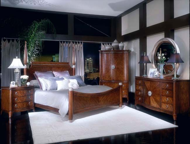THE FURNITURE Africa Poster Bedroom Collection In Light Prima - Collezione europa bedroom furniture collezione europa bedroom