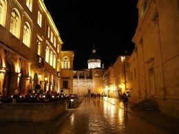 Old town at night. Good blog with decent tips about activities in Dubrovnik