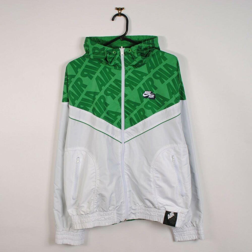 eBay Sponsored) Nike Air Reversible Windbreaker Jacket Green