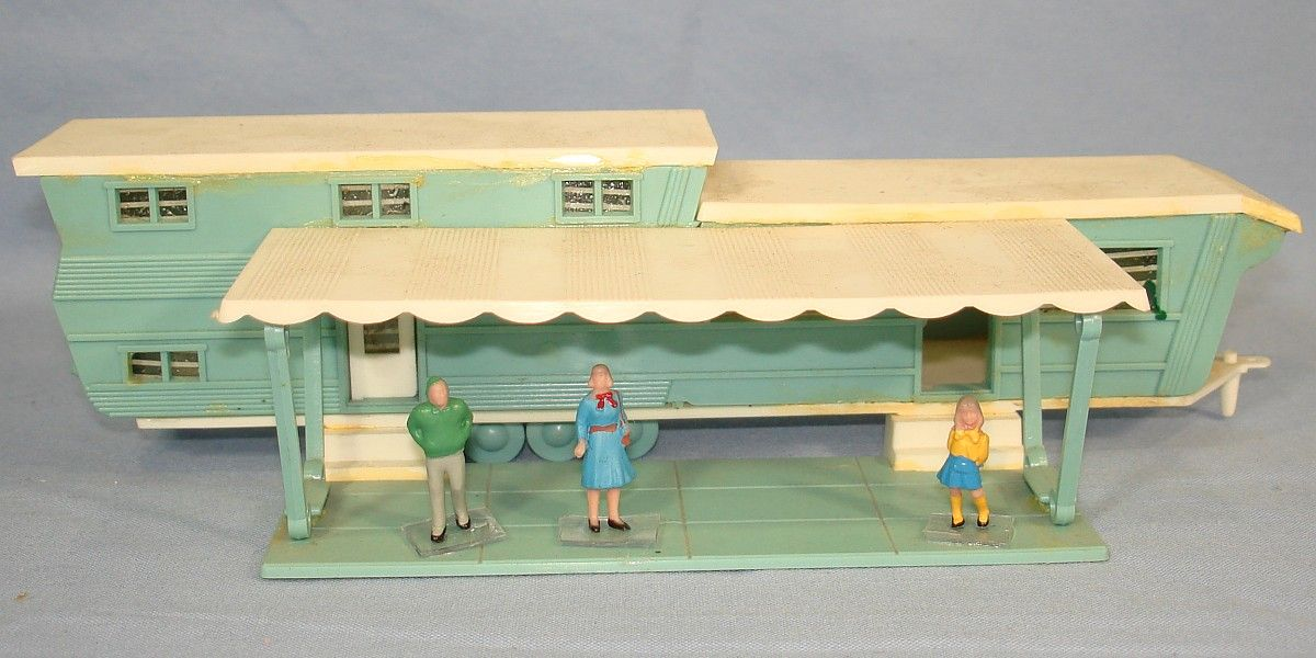 Image Detail For Unknown Vintage Ho Plastic Mobile Home