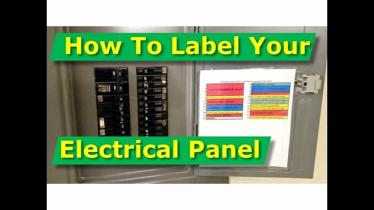 Breaker Panel Label Template Best Of How To Map Out Label