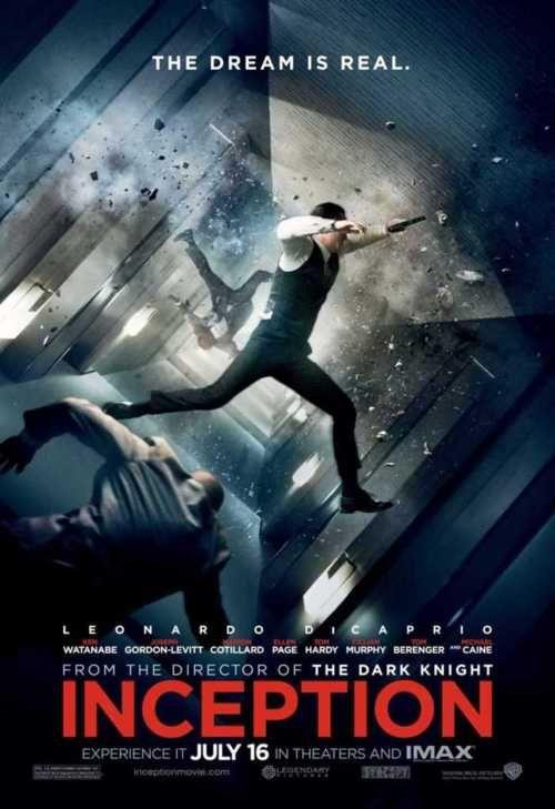 Inception, starring Leonardo DiCaprio and Joseph Gordon-Levitt (2010)