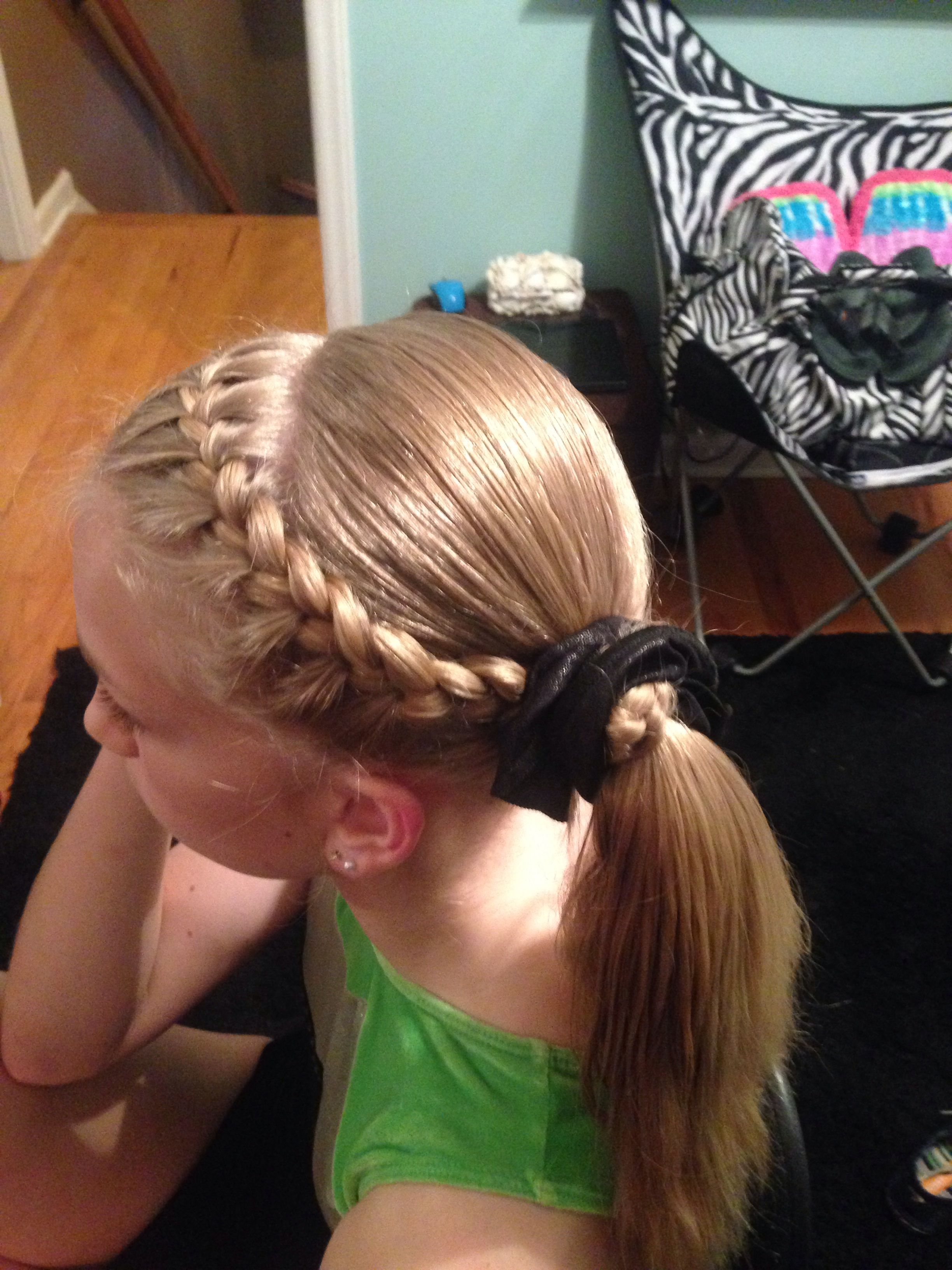Pin By Emma Zimmerman On Hairstyles Gymnastics Hair Competition Hair Hair Styles