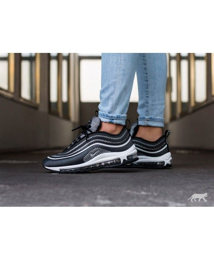 e5372f75bba Nike Black Friday Wmns Air Max 97 Ultra 17 Black Pure Platinum Anthracite  White
