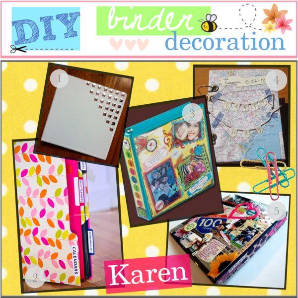 DIY; Binder Decoration :) | Binder decoration, Binder and ...