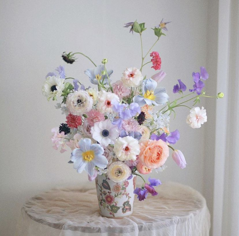 Pin By Sarah Dantas On Green Thumb In 2020 Beautiful Flower Arrangements Different Flowers Flower Aesthetic