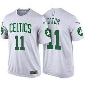 wholesale dealer 4a3de 23788 2017 NBA Draft Boston Celtics #11 Jayson Tatum White Name ...
