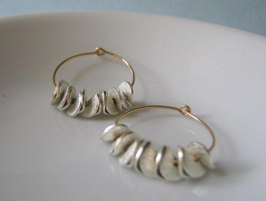 Dainty Hoop Earrings, Jewelry